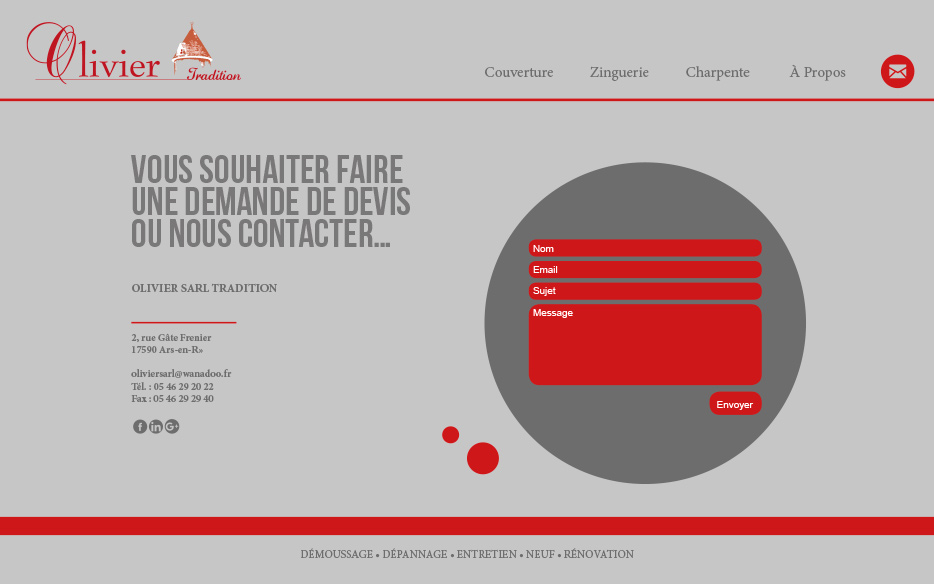 page contact-olivier-couverture.fr